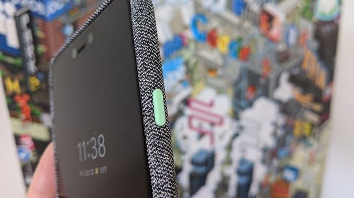 Pixel 3 rýchle spustenie fotoaparátu