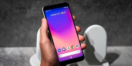 Pixel 3 telefón