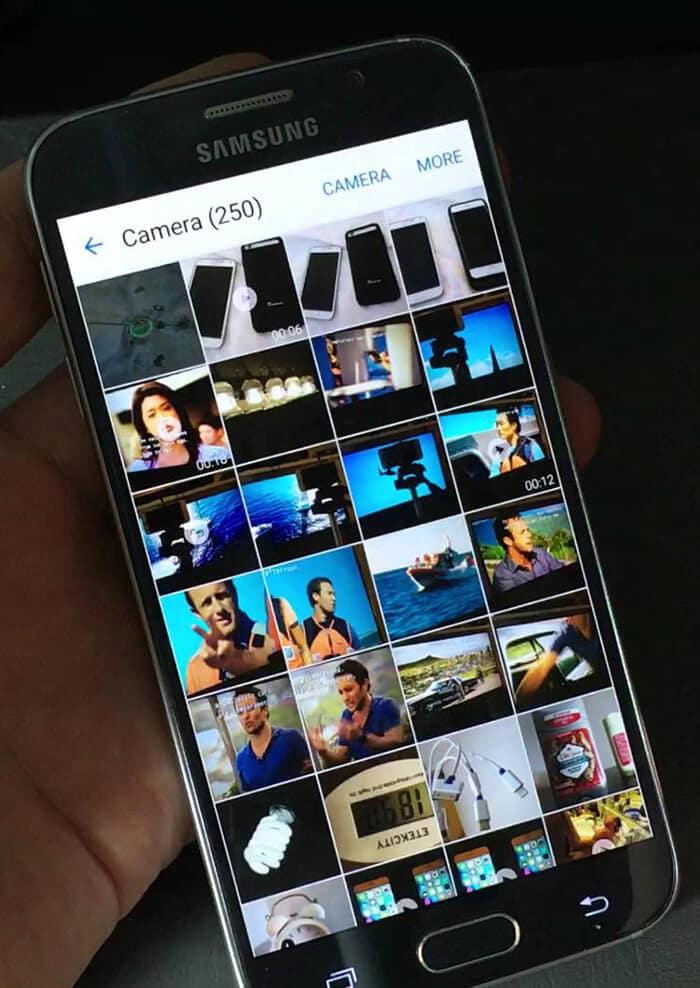 Vytvorenie GIF pre fotoaparát Google Pixel
