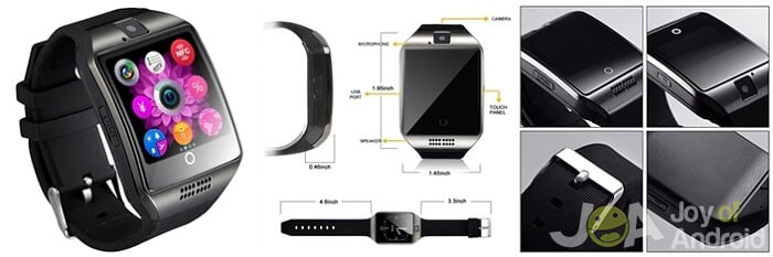 Najlepšie hodinky s Androidom s kamerou 9