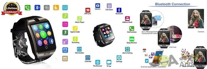 Najlepšie hodinky s Androidom s kamerou 5