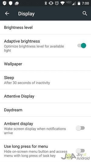 adaptívny jas