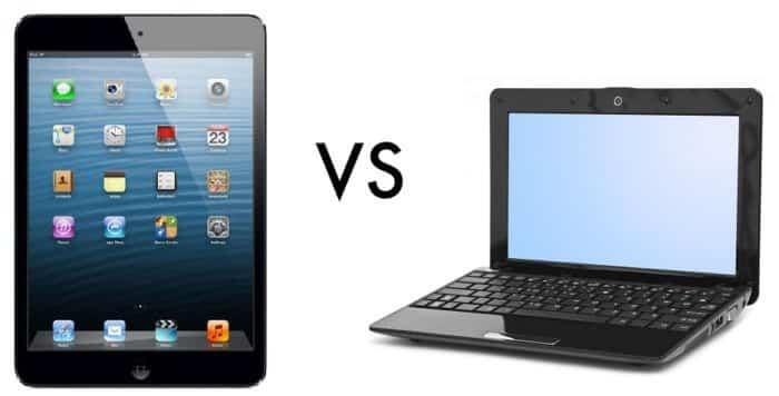 Tablet vs notebook