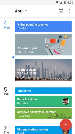 kalendár domácich riešení google