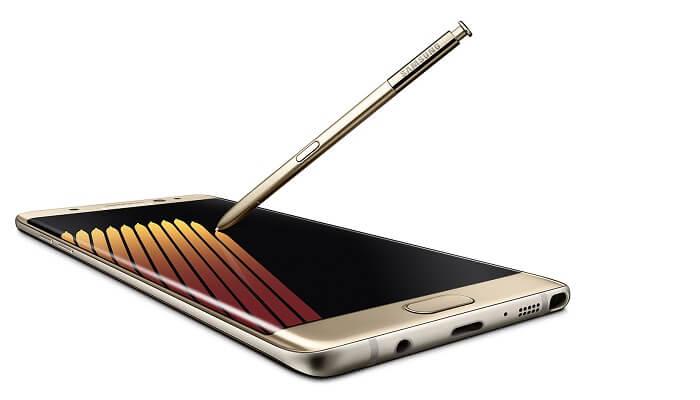 Samsung Galaxy Poznámka 7