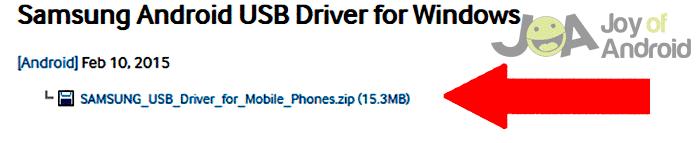 ovládače USB-download-s5-ovládače