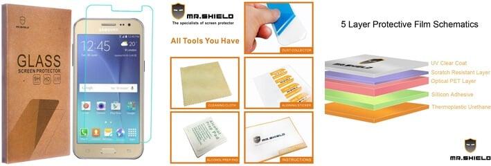 Ochranné tvrdené sklo Mr Shield