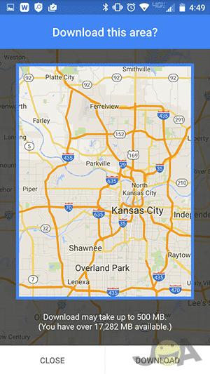 Mapa na stiahnutie