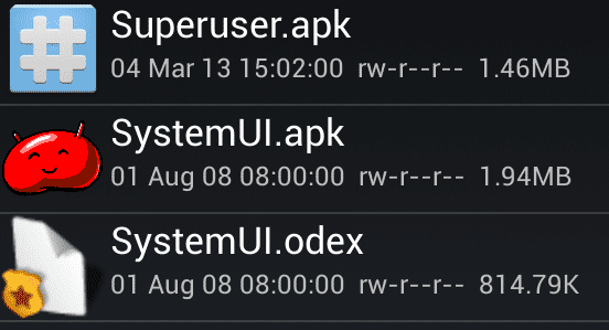 Súbor APK Superuser