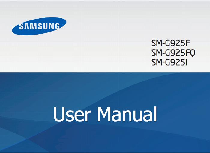 Samsung Galaxy Používateľská príručka S6 Edge