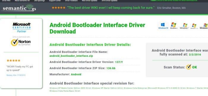 Ovládač bootloadera