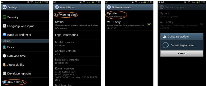 Aktualizujte svoj Galaxy S3