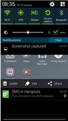 Vytvorte snímku obrazovky
