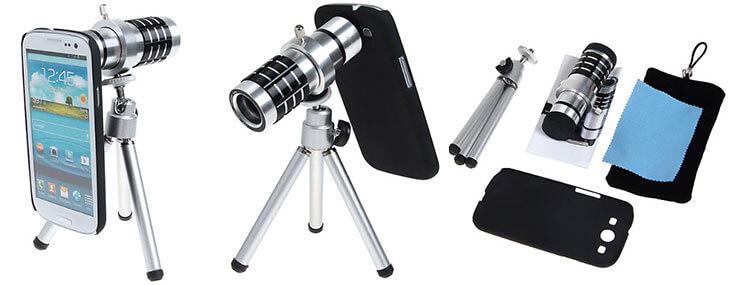 teleobjektív pre samsung galaxy s3