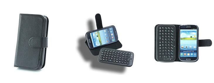 vyklápací kryt klávesnice pre Samsung Galaxy S3