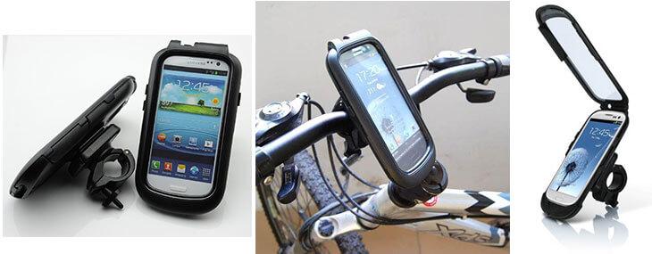 držiak na bicykel pre samsung galaxy s3