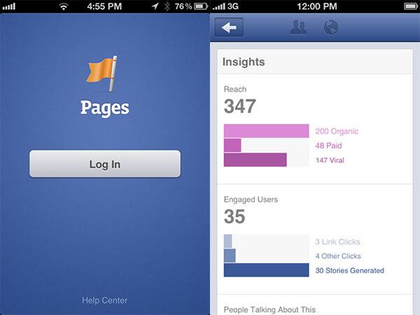 Facebook  Správca stránok