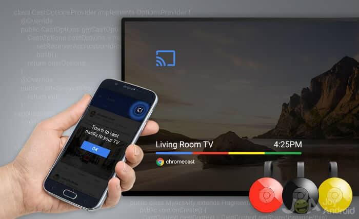 Prenášajte Android do TV - Chromecast