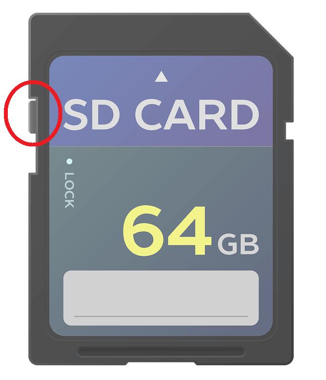 Karta SD na ochranu pred zápisom - Obnovte poškodenú kartu SD