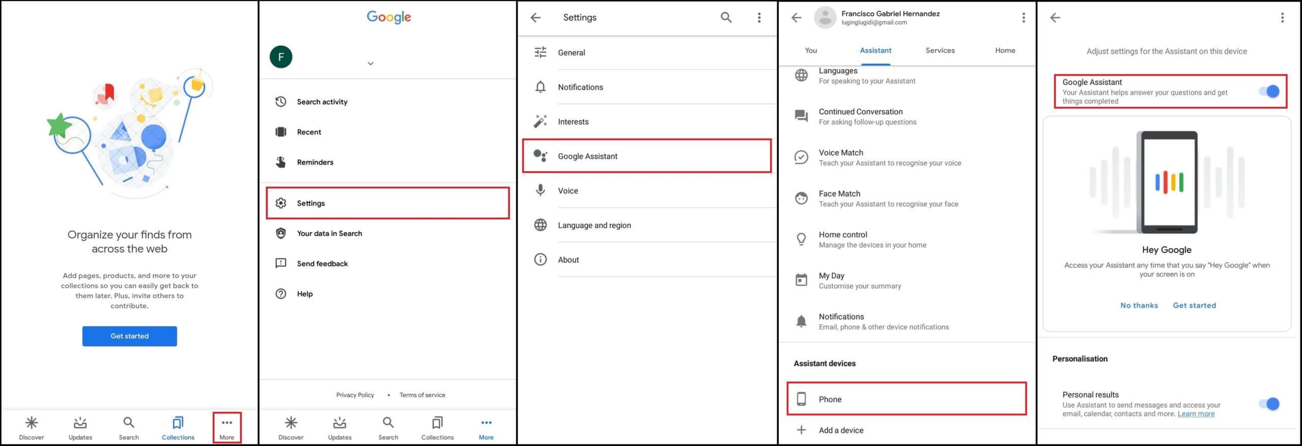 Ako sa zbaviť Google Assistant prostredníctvom nastavení telefónu