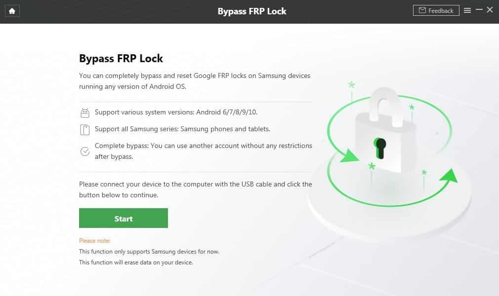 Ako obísť zámok FRP na zariadení Android 3