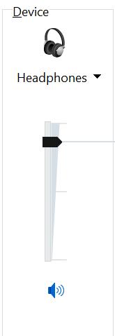 zapnuté nastavenia slúchadiel windows