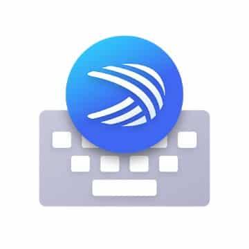 Logo aplikácie Microsoft SwiftKey Keyboard