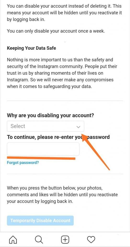 dôvod a heslo