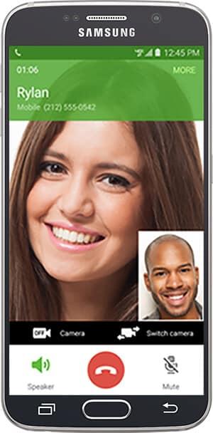 Vstavaný videorozhovor Verizon na telefónoch s Androidom