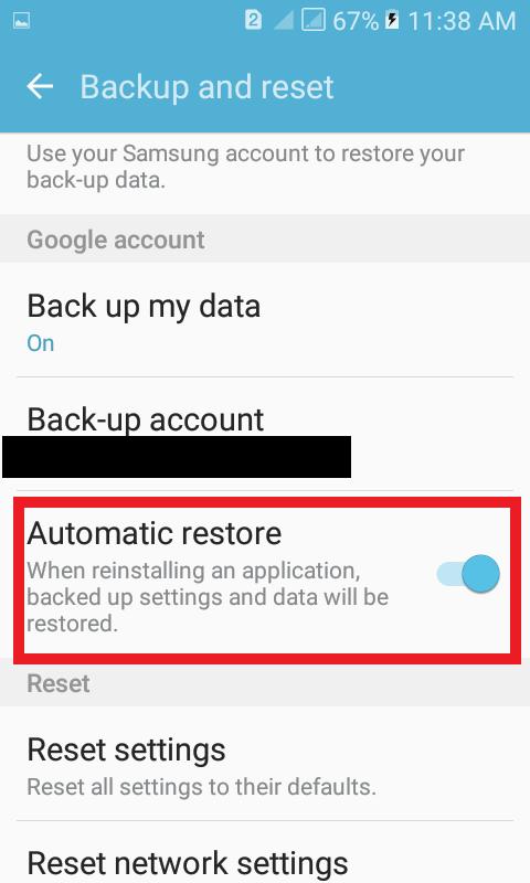 Zapnite funkciu automatického obnovenia