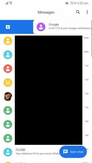 Posunutím doprava alebo dlhým stlačením skryjete SMS v systéme Android