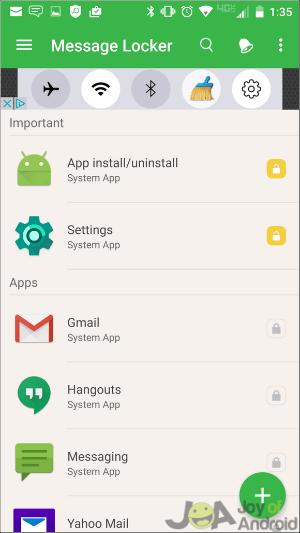 Ako skryť SMS v systéme Android - skryť aplikácie na odosielanie správ