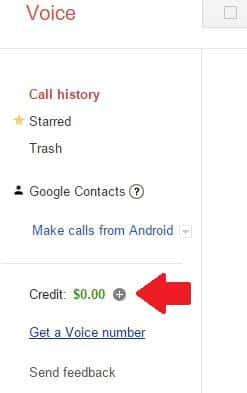 Uskutočňujte hovory v službe Hangouts nákupom kreditov