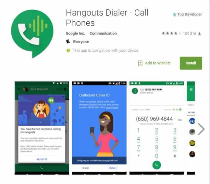 Riešenie problémov so službou Google Hangouts