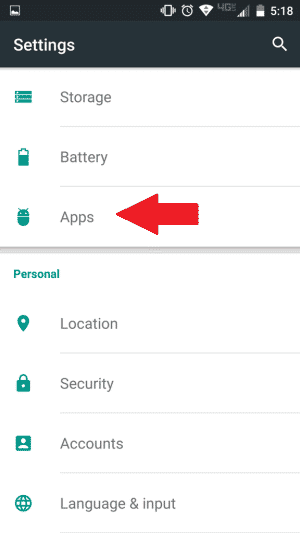 Vymažte údaje vyrovnávacej pamäte služby Google Hangouts
