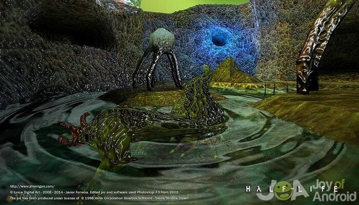 Hranie starých počítačových hier na zariadení Android (Half-Life v systéme Android)