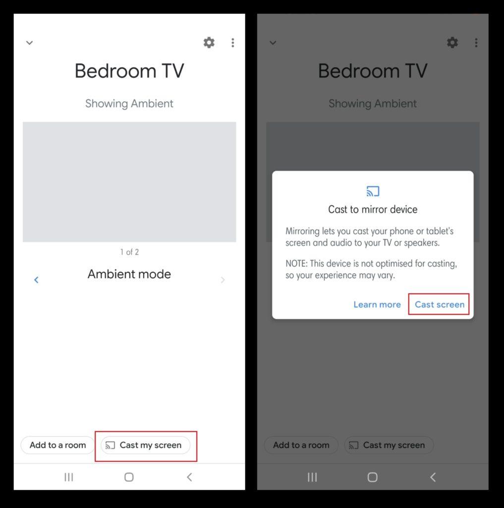 Nastavte Chromecast - zariadenie