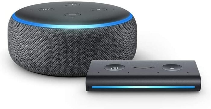 Echo Dot - Vypnúť OK Google