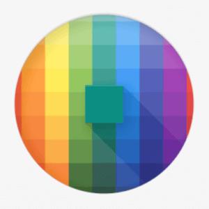 pixolorové logo