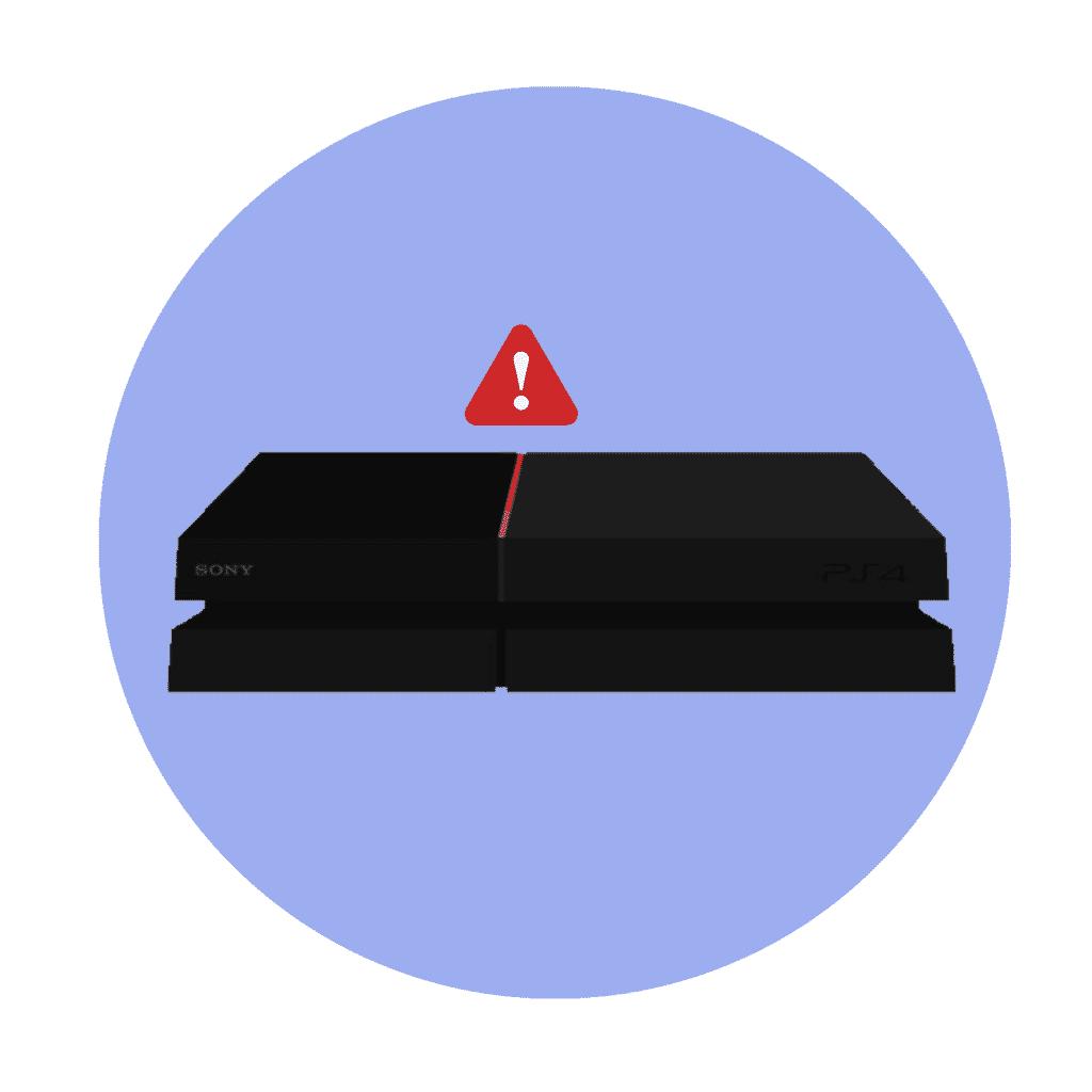 Problém s PS4?  Červené svetlo pri štarte?