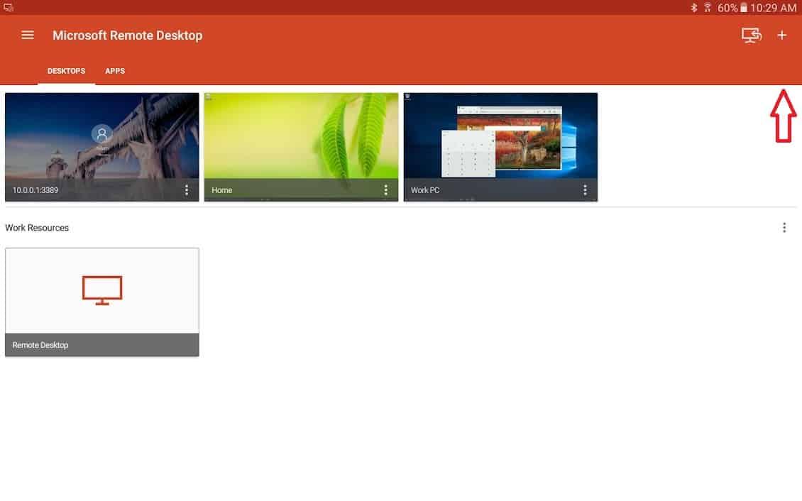 Ako pripojiť Android k Windows Počítač s aplikáciami vzdialenej plochy - Vzdialená plocha Microsoft - Diaľkové pripojenie Microsoft