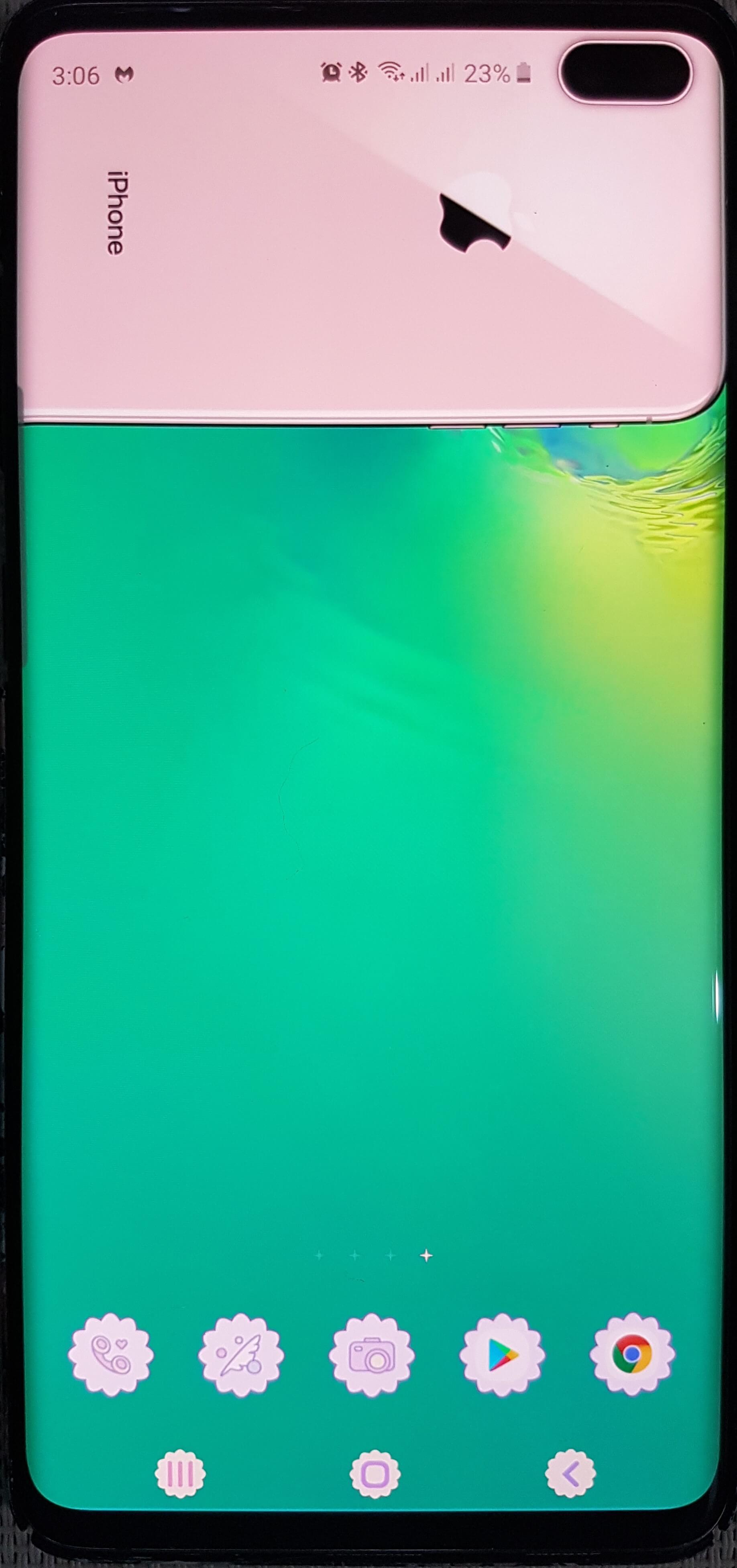 Ako skryť Samsung Galaxy Dierovacia kamera S10 [2 Methods] 5