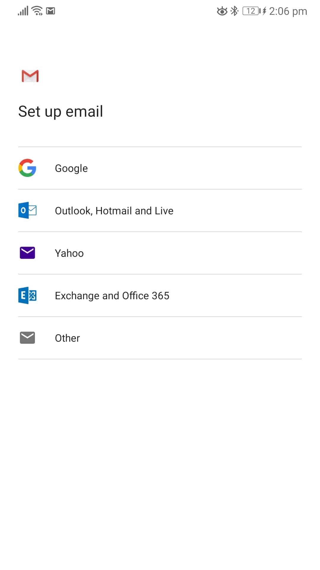 synchronizácia outlook androud gmail