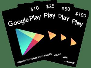 google-play-darčekové karty