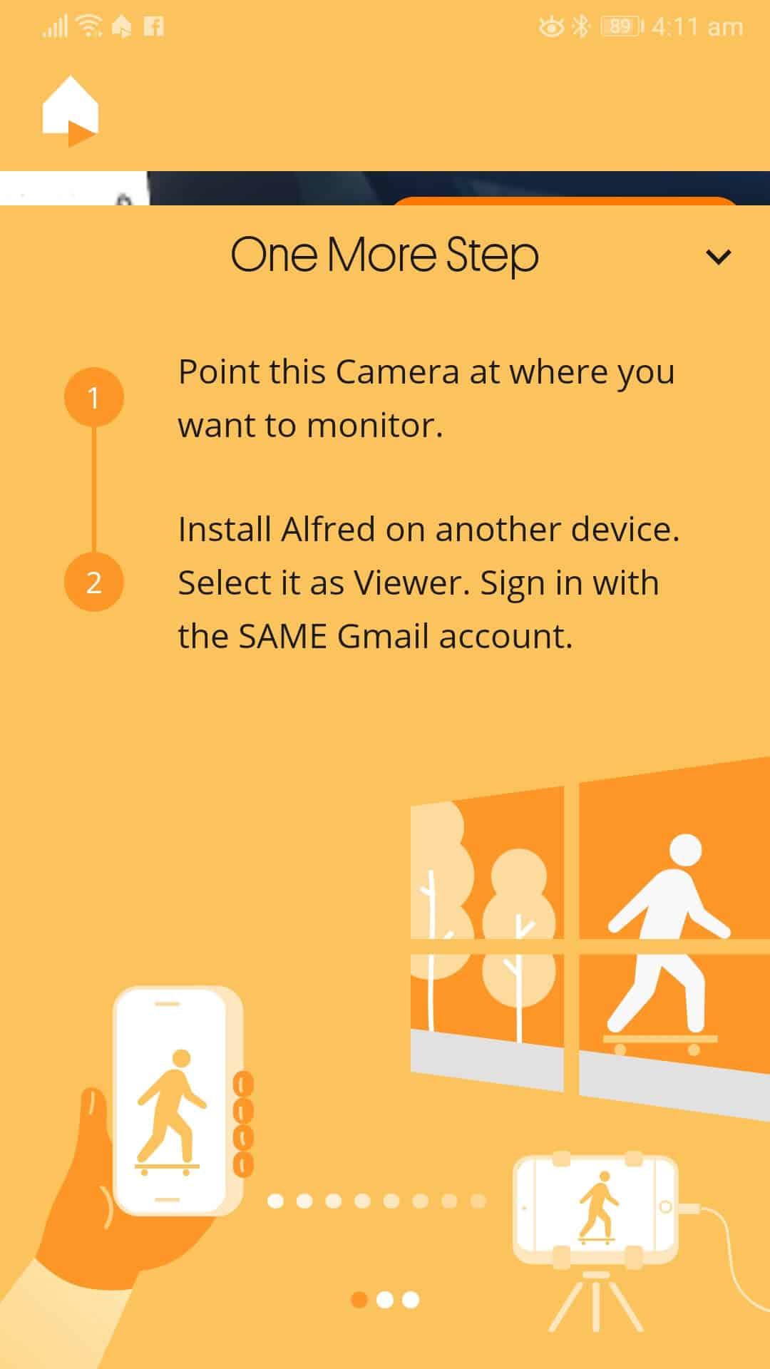 Ako používať telefón s Androidom ako bezpečnostnú kameru CCTV (1)