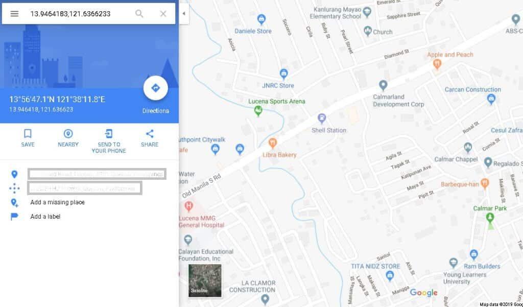 Rozhranie Google Maps