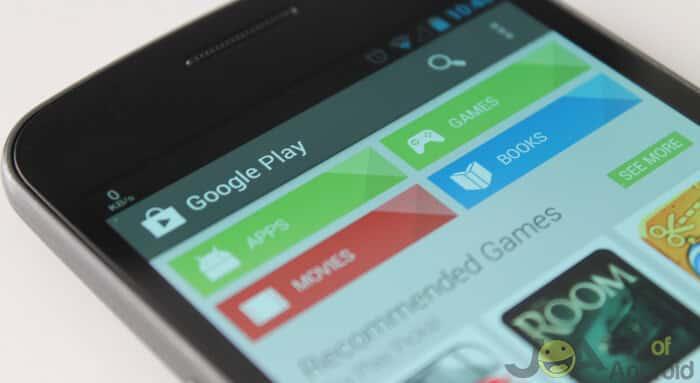 Chyba služby Google Play-406