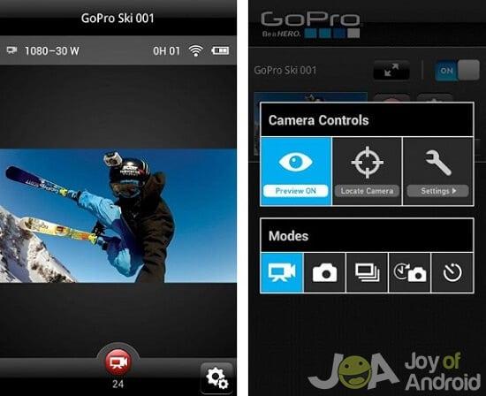 Ako pripojiť a používať kameru GoPro s akýmkoľvek telefónom s Androidom    Radosť z Androidu