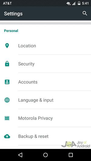 nastavenia polohy odmeny za názor Google