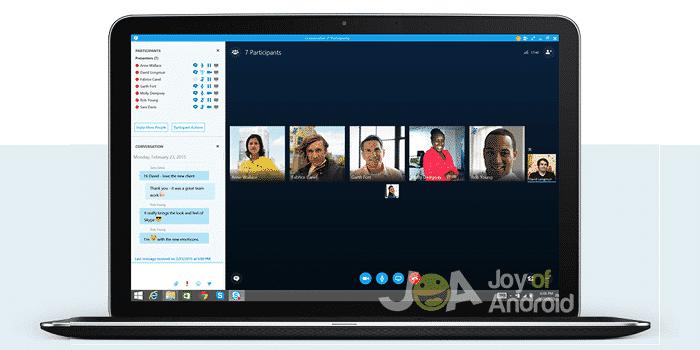 telefónne linky androidu skype1